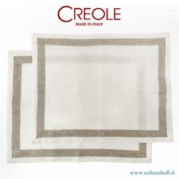 LINO Set 2 Place Mat Pure Linen