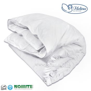 MEDIUM PERCALLE Duvet for double bed 100% Mongolian Eiderdown middle waigth