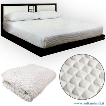 ANTISTRESS Multistretchable Towelling Single Mattress Cover