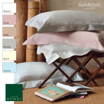 EASY Cotton Satin Sheets for Double Bed SVAD DONDI
