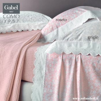 SEGRETI SAN GALLO Pure Cotton Sheet Set for Double Bed GABEL