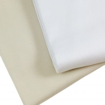 COCO' Satin Fitted Sheet for Double Bed Cotton Satin 200X200+30