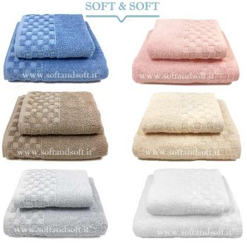Check 1+1 Towel Set 500 gr/sm