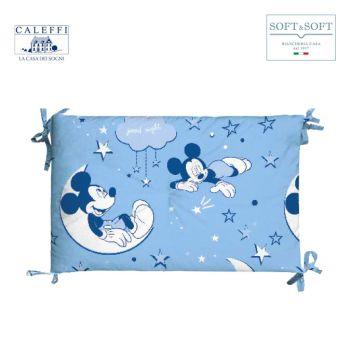 MICKEY NOTTE DI STELLE Paracolpi Lettino Sponde Disney CALEFFI