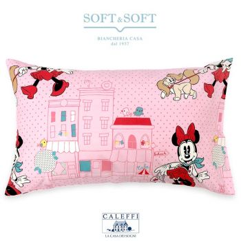 MINNIE CITY Pillowcase 50x80 Disney by CALEFFI