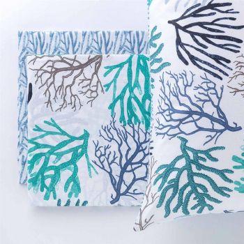 NEMO completo lenzuola da letto SINGOLO puro cotone-Acquamarina