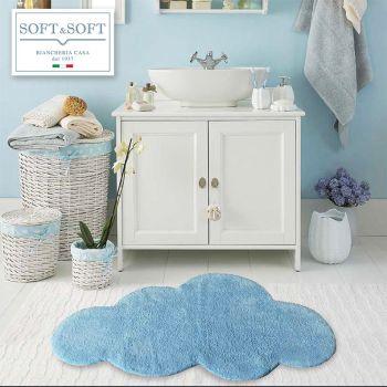 NUVOLA tappeto bagno in puro cotone 60x100