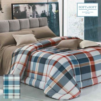 PRIMAVERA 40 Geometric Quilted Bedcover for Three Quarter Bed by GFFerrari