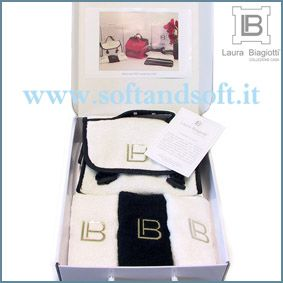 LAURA BIAGIOTTI GIFT -  Beauty Case Set 3 Face Towels