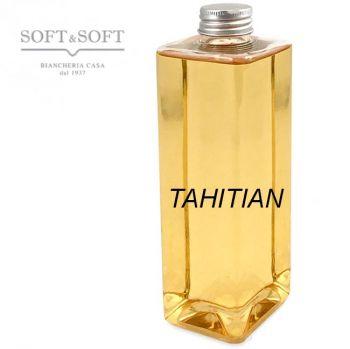 Tahitian ml 500 ricarica aroma fragranza per diffusori profumantori  ambiente