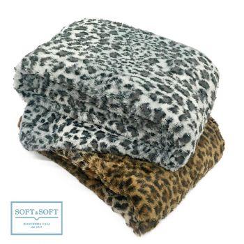SAVANA blanket 210x240 in eco fur