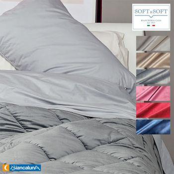 VELVET velvet winter quilt DOUBLE size 260x260 BIANCALUNA