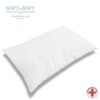 WELLCARE Guanciale cuscino da letto Antiacaro cm 50x80