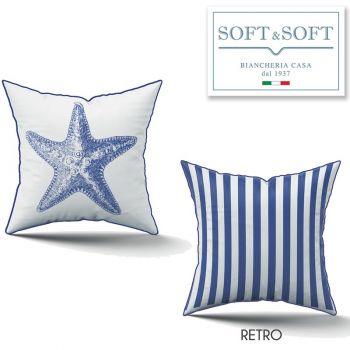 Zante cuscino Arredo Imbottito cm 45x45 - Stella