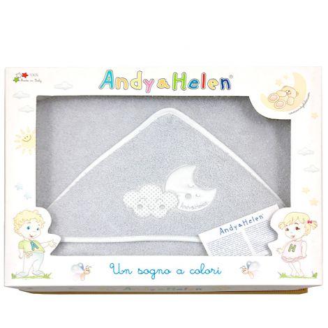 TEDDY D03 accappatoio neonato Baby triangolo 75x75 Spugna di Cotone