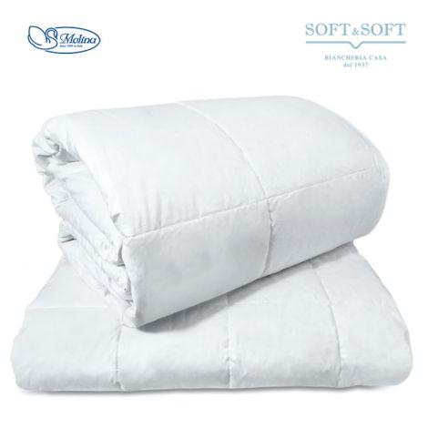ISLANDA FOUR SEASONS Duvet THREE-QUARTER BED 100% White Down by MOLINA