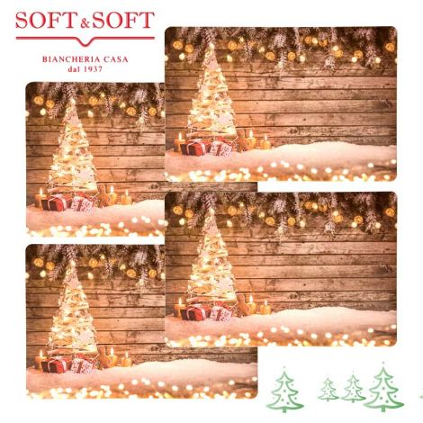 CHRISTMAS  set 4 place mat Chistmas