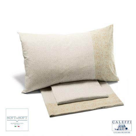 CITY Cotton Sheet Set cm 140 cm bed size CALEFFI
