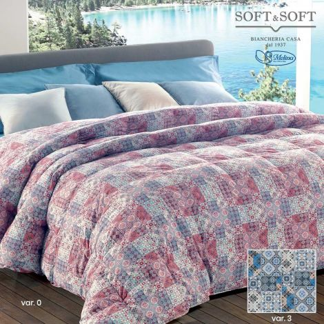 CLASSIC 571 V.3 Quilt for SINGLE Bed 100% Eiderdown by MOLINA