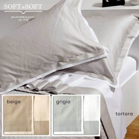 COCO Satin Sheet Set for Double Bed Cotton Satin 180X200+30