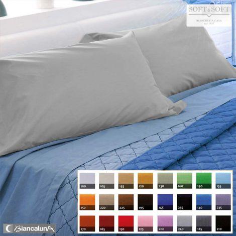 COLORE lenzuola letto una piazza e mezza (abbina i colori come preferisci)