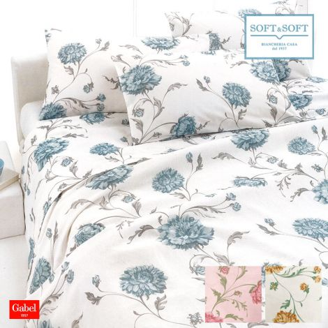 CONNECTION DOUBLE-SIZE bedcover cotton pique GABEL