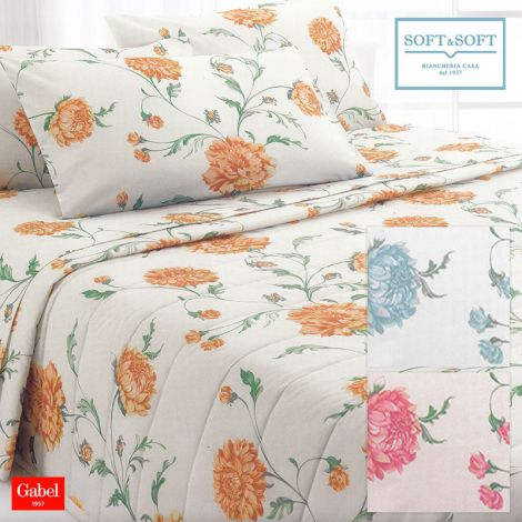 CONNECTION Spring Quilted Bedcover DOUBLE BED Size GABEL