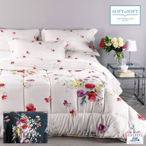 CRISTAL Pure Cotton Quilt for Double Bed by CALEFFI