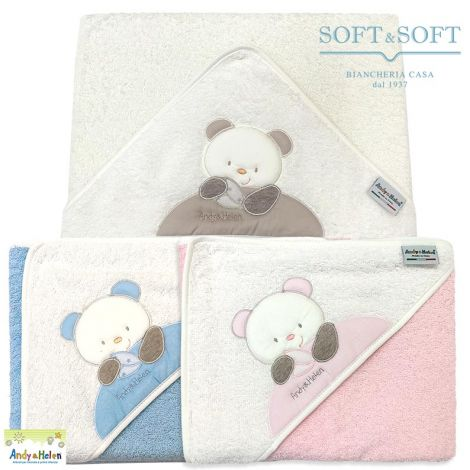 TEDDY D34 Baby Triangular Bathrobe for Babies