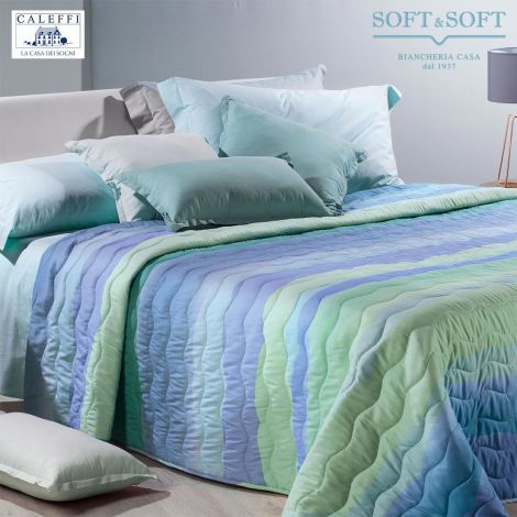 DANUBIO Quilted Bedcover for DOUBLE bed 260x270 by CALEFFI