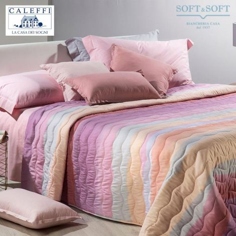 DANUBIO Quilted Bedcover for SINGLE bed 170x270 by CALEFFI