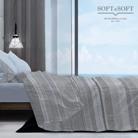 DENY Oxford Style Bedcover for Single Bed