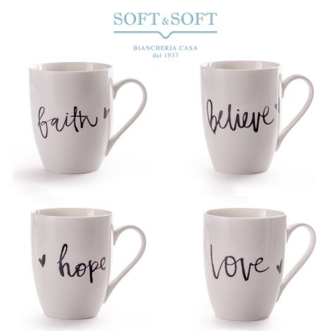 New Bone China porcelain mug with Easy Draw design
