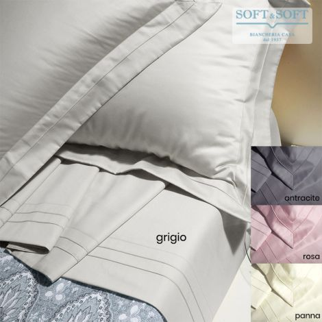 ELITE Sheet Set for DOUBLE Bed Cotton Satin