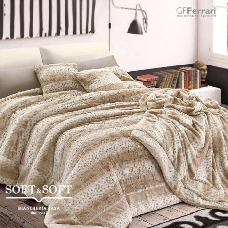 EMI single rug ecologic fur ermine cm 150 × 200 GFFerrarri