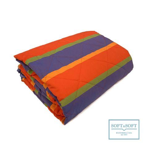 FARNESE fire resistent bedspread 265x260 Red