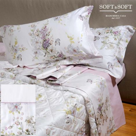 FLORENCE Sheet set for DOUBLE bed satin flounce