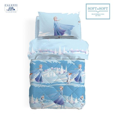 FROZEN NATURA Quilt for Single Bed Disney by CALEFFI
