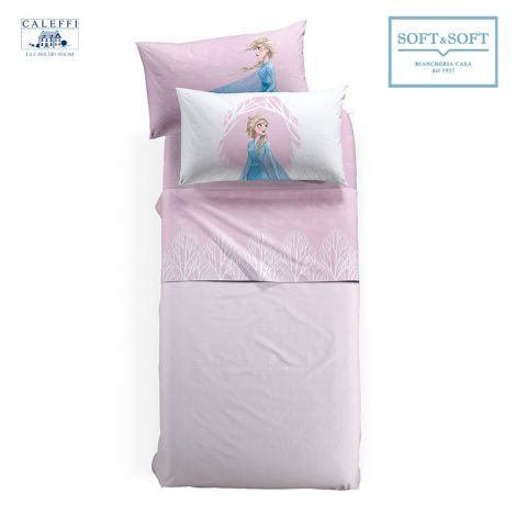 FROZEN NATURA Sheet Set for Single Bed Disney by CALEFFI