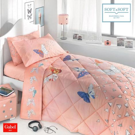 GENESI winter quilt SINGLE bed size cotton GABEL