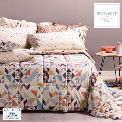 GEO winter quilt for SINGLE bed microfiber CALEFFI Amber