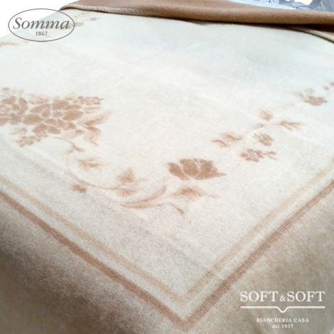 Coperta in pura lana matrimoniale king Somma