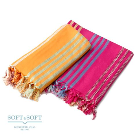 IBIZA Beachtowel/Sarong 100x180 with Fringes