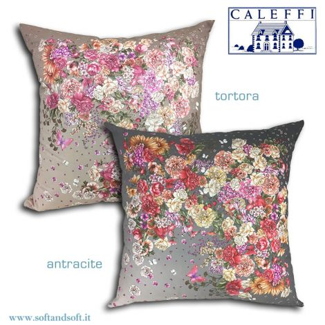 CASA BELLA Cushion cm 60x60 digital print by Caleffi
