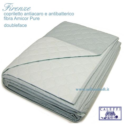 FIRENZE Quilted Bed cover for Double beds CALEFFI