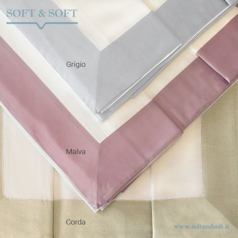 BALZA RASO White Sheet Set for Double Bed by CREOLE