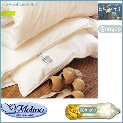 BIOSOFT Corn Duvets for DOUBLE BEDS medium weight Molina