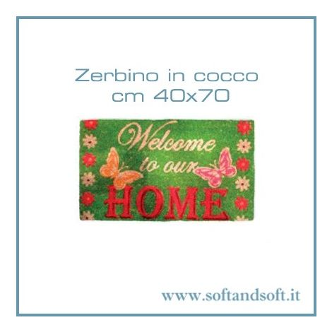 DOOR MAT Welcome Home Gum and Coir