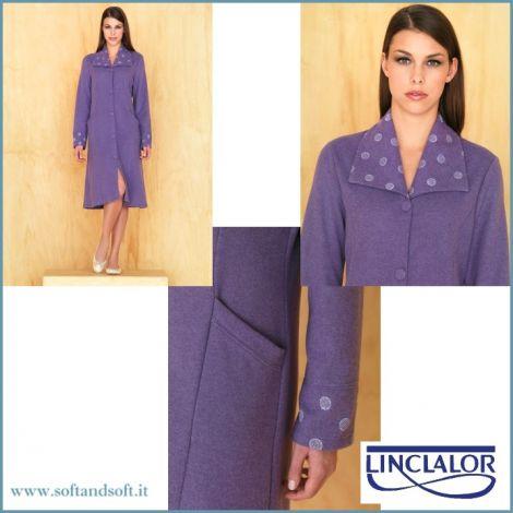LINCLALOR 77029 Vestaglia Donna Invernale manica lunga