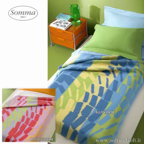 ENJOY Woolen Blanket for Single Bed by SOMMA